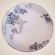 30% OFF - Antique Blue and White China - Alfred Meakin Porcelain - England Severn Sauce Dish