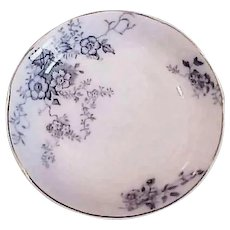 Antique Sauce Dish - Blue and White China - Alfred Meakin - England Severn Porcelain