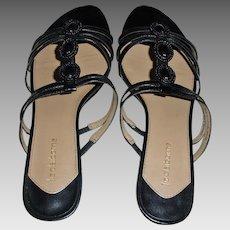 Vintage Liz Claiborne Slip On Low Heel Sandals
