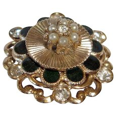 Vintage Coro Pin Brooch - Late Edwardian Period