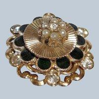Vintage Coro Pin Brooch - Late Edwardian Period