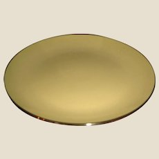 Mid Century Modern China - Franciscan Salad /  Dessert Plate - Chartreuse  Green - by Gladding McBean of California