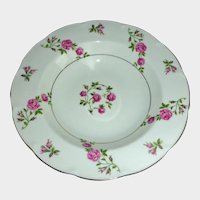 Theodore Haviland China  New York  Made in America – Delaware Pattern  Rimmed Cream Soup Bowl