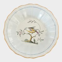 Spode Dessert Fruit or Sauce Dish - Queen's Bird Pattern - Spode of England - Fine Stone - Old Mark Y4974