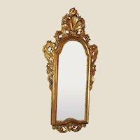 Vintage Borghese Mirror - Italian Gilded Florentine Wall Mirror