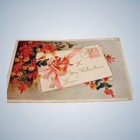 Antique To My Valentine Postcard - 1913