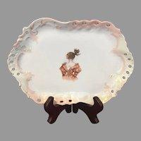 Bavaria Porcelain Lady Dresser Tray ZS&Co