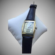 Rare 1937 Hamilton Merritt 10K GF Men's Watch 17 Jewels