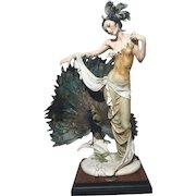 Rare Guiseppe Armani Retired Isadora Figurine #633C LE 2078/3000 Magnificent