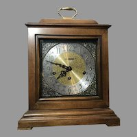 Stunning Howard Miller Samuel Watson Mantel Mechanical Clock 612-429 Triple Chime