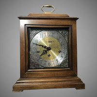 Stunning Howard Miller Samuel Watson Mantel Mechanical Clock 612-429 Triple Chime