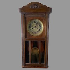 Junghans German Wall Clock ca. 1910