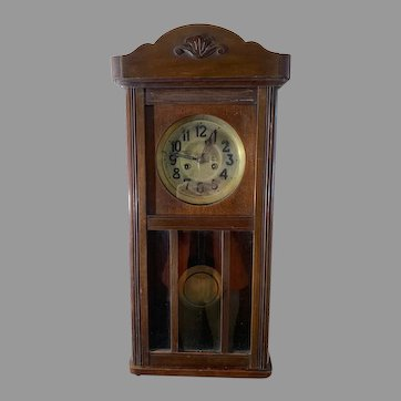 Junghans German Wall Clock ca. 1910