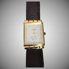 Never Worn Rare Gruen Swiss Watch Long Fancy Case