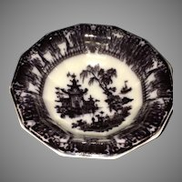 Gorgeous PW&Co Corean Mulberry Ironstone Corean Basin