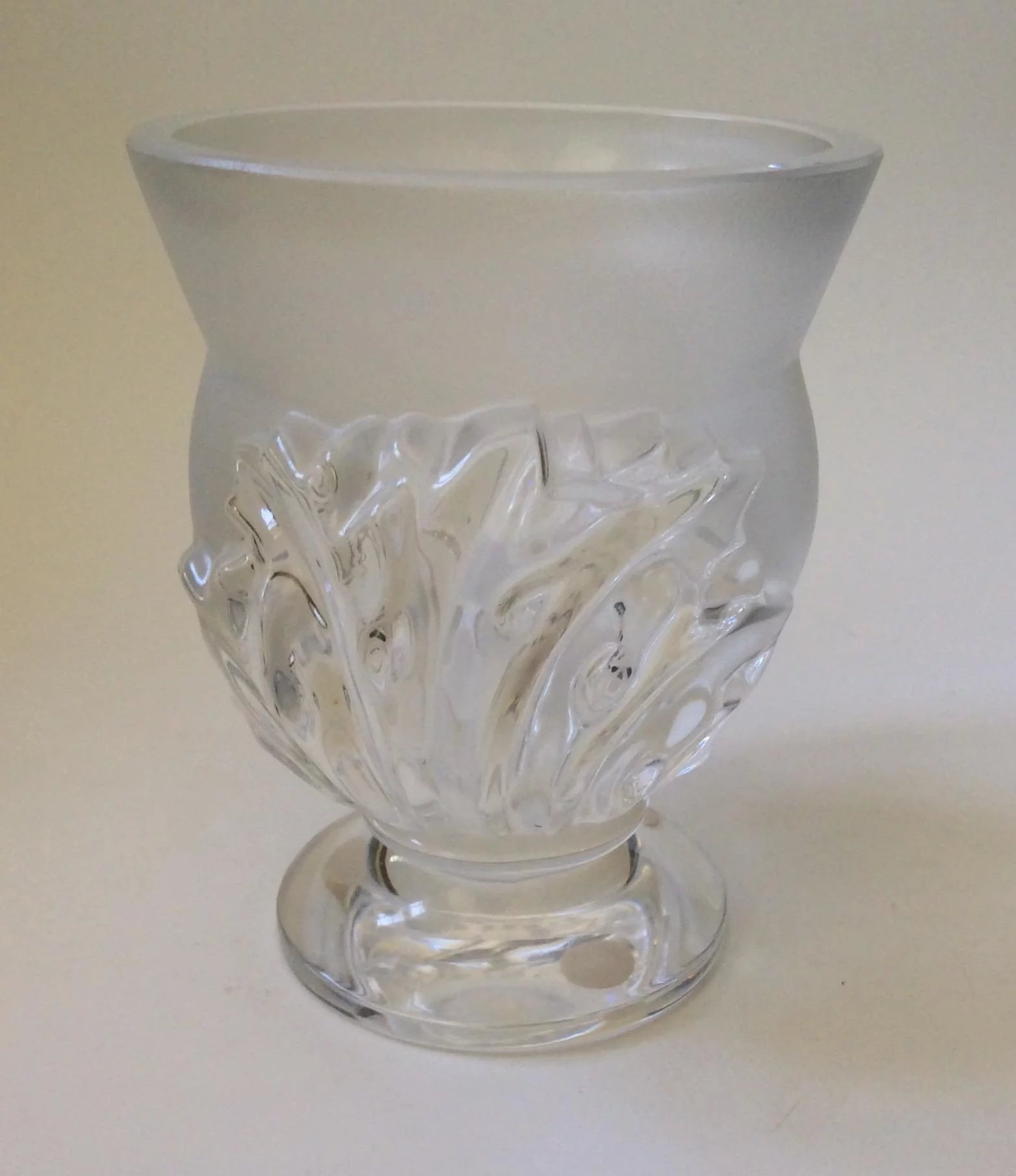 Lalique st cloud crystal vase mint condition archetypes ruby lane lalique st cloud crystal vase mint condition click to expand reviewsmspy