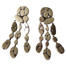 John Hardy Sterling Silver Dangle Earrings for Pierced Ears