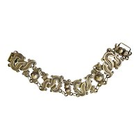 Iconic William Spratling Taxco 980 Silver Vindobonesis Bracelet c 1930s, 108 Grams