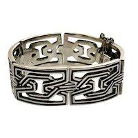 Pedro Castillo Taxco MidCentury Sterling Silver Bracelet #112