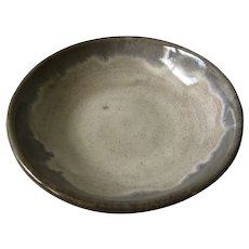 Signed Eugene Deutsch MidCentury Art Pottery Bowl, 1953