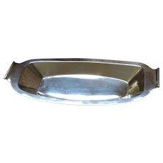 Art Nouveau Silverplate Serving Platter or Bread Tray c. 1920