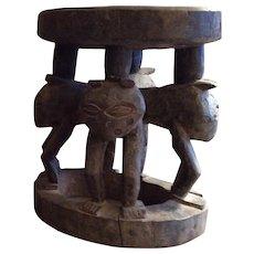 African Figural Stool, Kuba