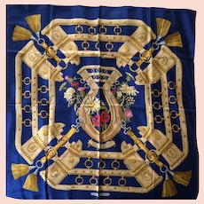 LIKE NEW Hermes Scarf: Aux Champs