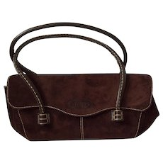 Tod's Brown Suede Bag