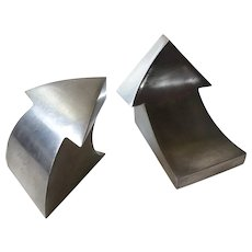 Curtis Jere MidCentury Modern Arrow Bookends