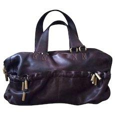 Donna Karan Calfskin Leather Bag