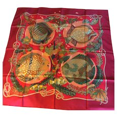 Hermes Scarf: Grand Fonds