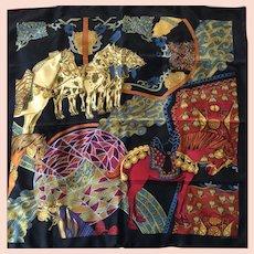 Hermes Scarf: Art des Steppes