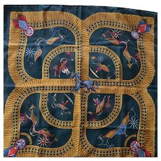 Hermes Scarf: Voitures Paniers
