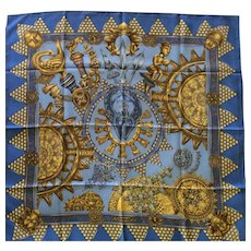 LIKE NEW Hermes Scarf: L'Or Des Chefs
