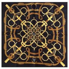 Hermès Silk Scarf: Eperon D'Or
