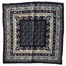 Hermès Silk Scarf: Floral Print Pochette