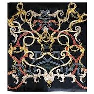 Hermès Jacquard Silk Scarf: L'Instruction du Roy
