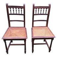 French dining chairs, set of 2