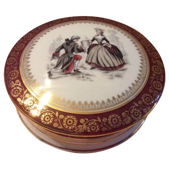 French Limoges Candy Dish