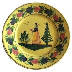 Small Decorative Quimper plate