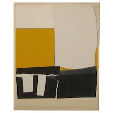 "Alfred Leslie Tiber Press ABSTRACT EXPRESSIONIST Silkscreen from ""Permanently"""