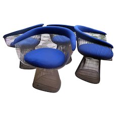 Bronze Warren Platner Arm Chairs -Vintage,  Priced in Pairs of 2, Total of 4