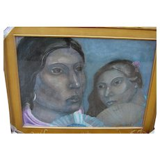 Miguel Martinez, 1951 - Two sisters