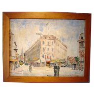 """Paris Corner,"" 1929 (30-Day Money Back Guarantee)"
