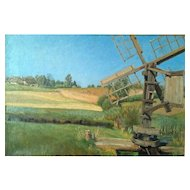 """""""Water Mill,"""" ca 1888, 16x24"""" (30-Day Money Back Guarantee)"""