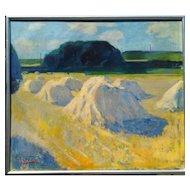 """Hay Stacks,"" a'la Monet (5-Day sale until Oct 11)"
