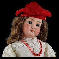 "Antique German Bisque Head Doll Early Mold 79 Org Body 24"" Elegant HTF Handwerck"