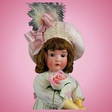 "Antique Doll German Large Kestner 171 Org Marked Body Org Wig Pate 26"" Fabulous!"