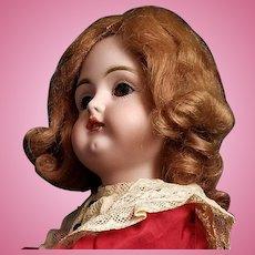 """Antique Doll German Kestner 129 Pale Bisque Socket Head Kestner Body 15"""""""