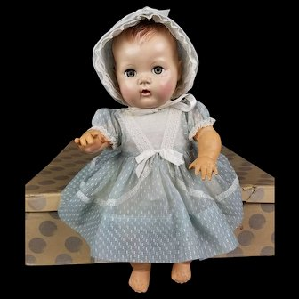 Vintage 1950's American Character Toodles Potty Baby Doll & Original Box Hard To Find!!